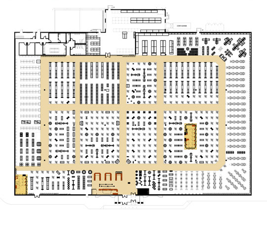 Burlington Coat Factory floor plan