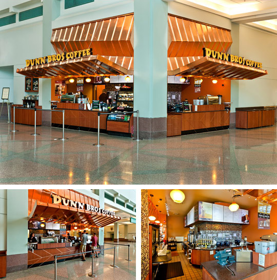 Dunn Bros in the Minneapolis Convention Center